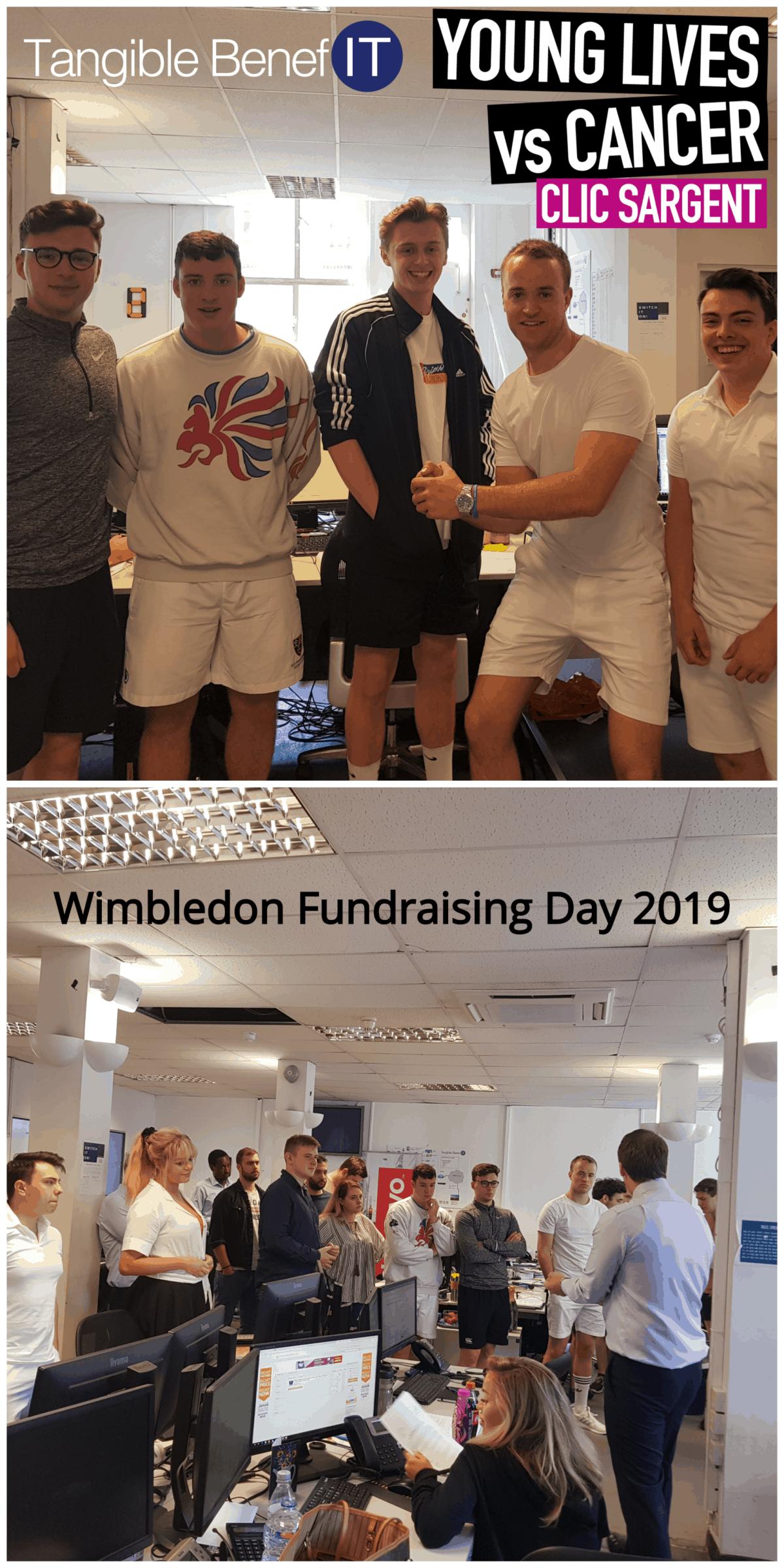 Wimbledone fundraising day 2019