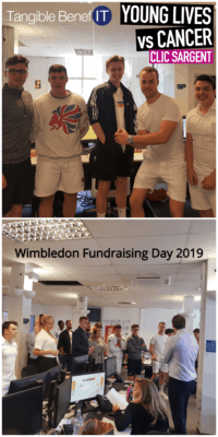 Wimbledone fundraising day 2019